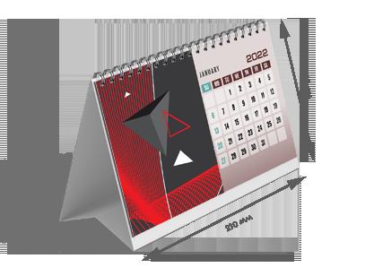 Настольный календарь домик на 13 листов