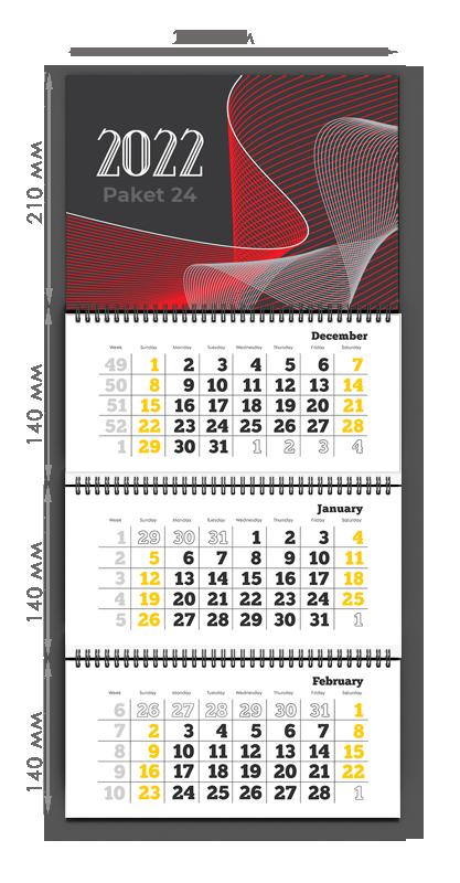 Квартальный календарь S